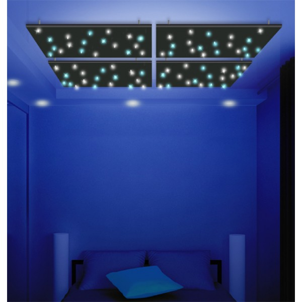 Id e d co avec l 39 clairage led le faux plafond toil for Eclairage led interieur plafond